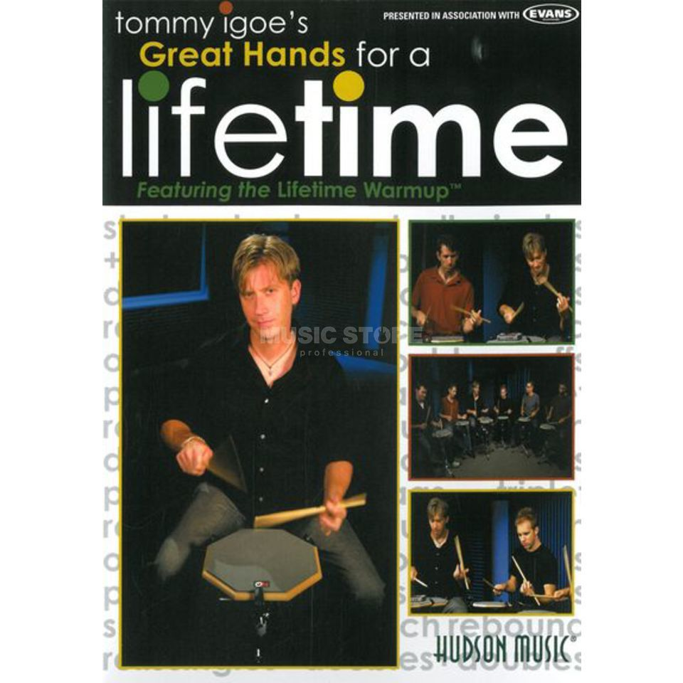 Hal Leonard Great Hands For A Lifetime Tommy Igoe, DVD Produktbillede