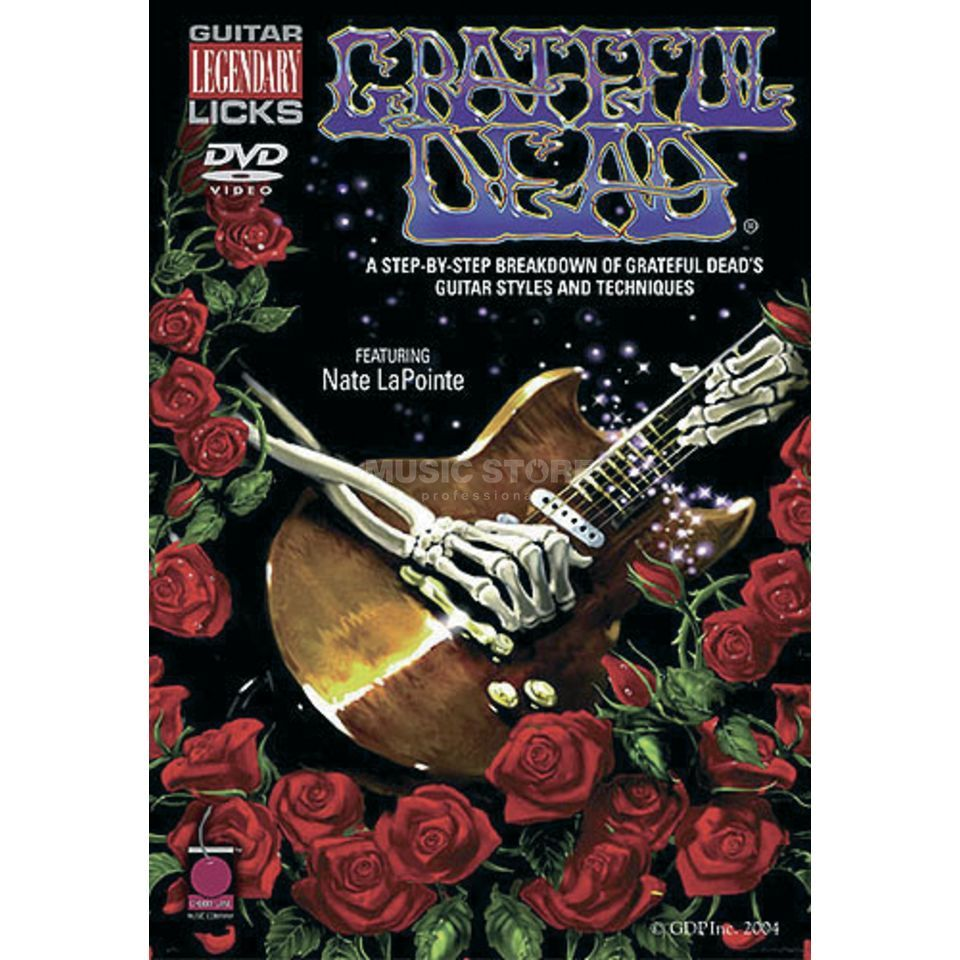 Hal Leonard Greatful Dead - Guitar Licks DVD Produktbillede