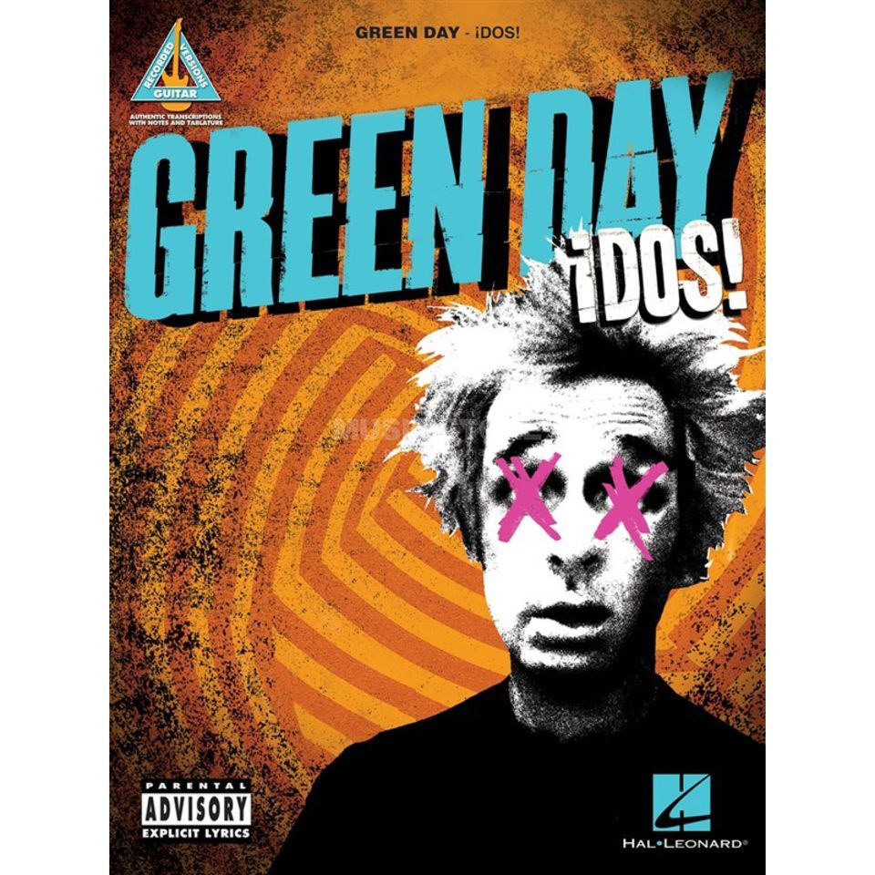 Hal Leonard Green Day - ¡Dos! TAB Product Image