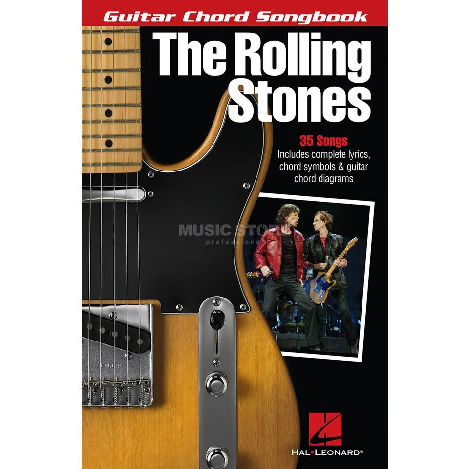 Hal Leonard Guitar Chord Songbook: The Rolling Stones Produktbild