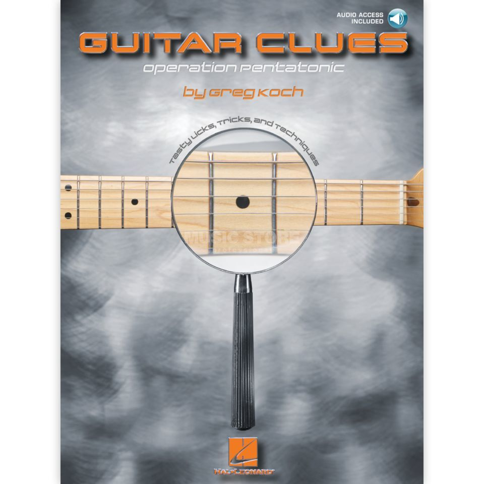 Hal Leonard Guitar Clues - Greg Koch Book and CD Produktbillede