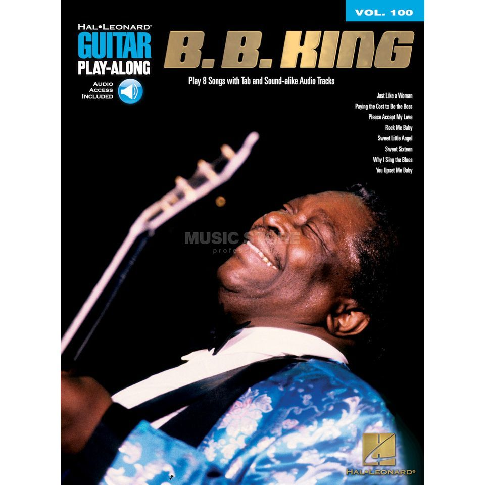 Hal Leonard Guitar Play-Along: B.B. King Vol. 100, TAB und CD Produktbild