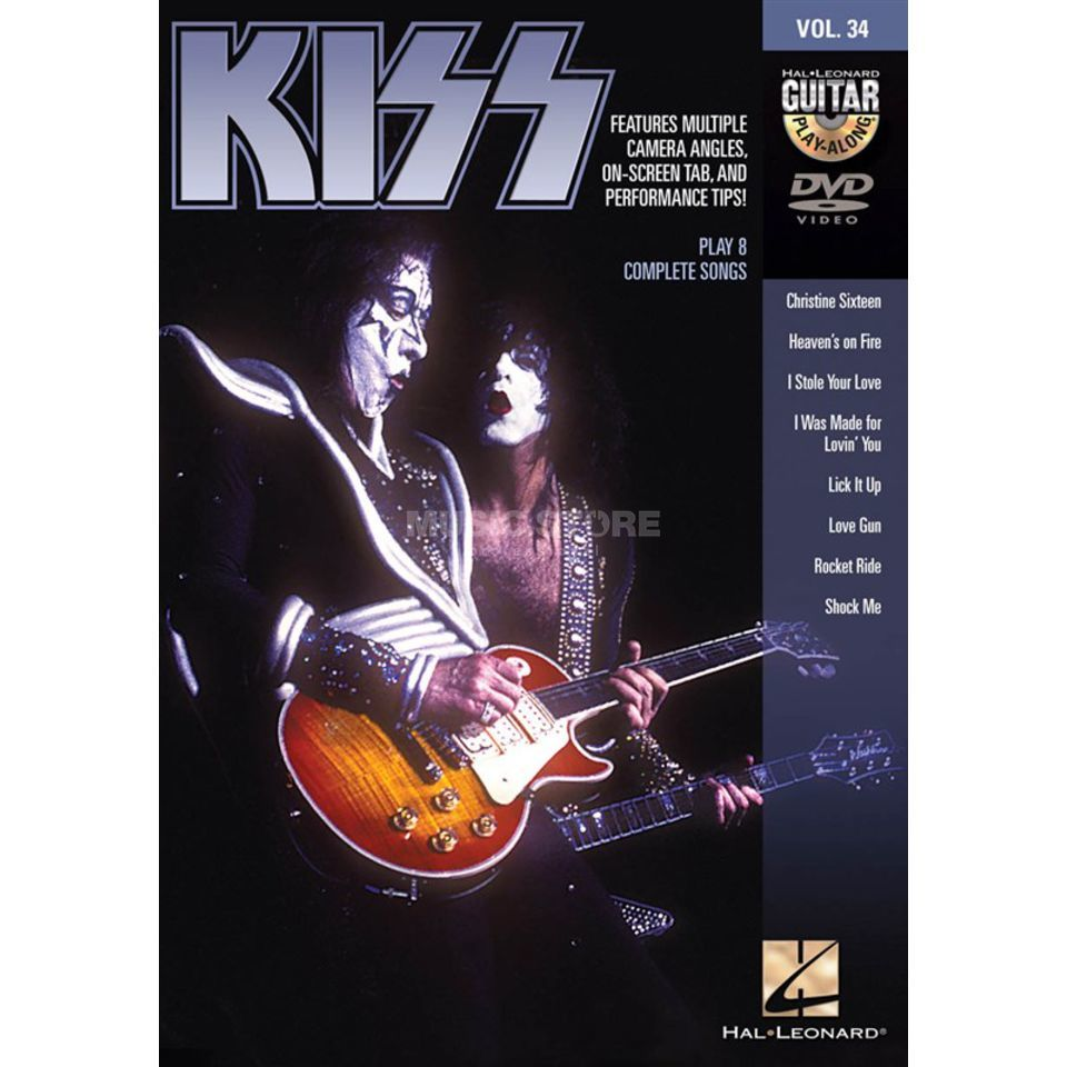Hal Leonard Guitar Play-Along DVD Volume 34: Kiss Produktbild