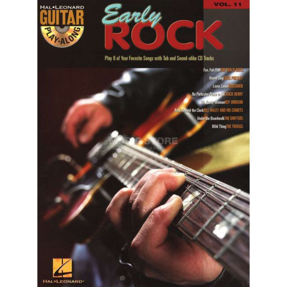 Hal Leonard Guitar Play-Along: Early Rock Vol. 11, TAB und CD Produktbild