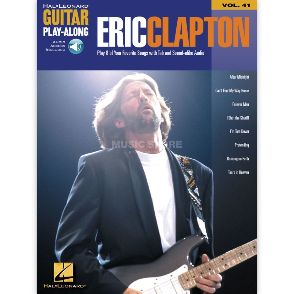 Hal Leonard Guitar Play-Along: Eric Clapton Vol. 41, TAB und CD Produktbild