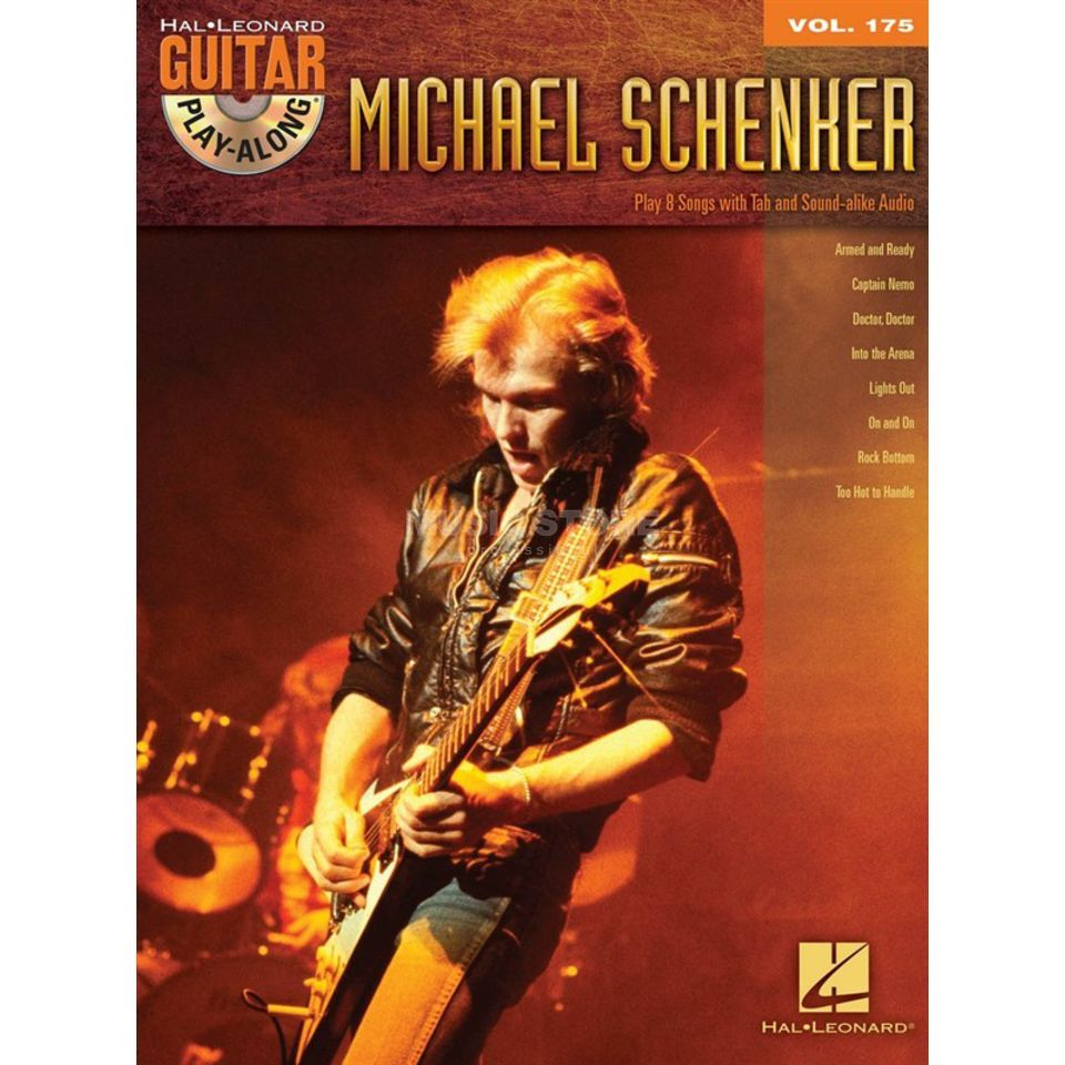 Hal Leonard Guitar Play-Along: Michael Schenker Vol. 175, TAB and CD Produktbillede