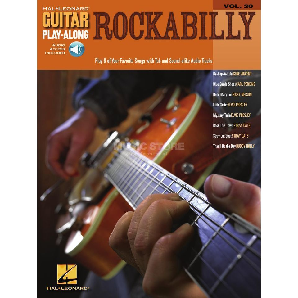 Hal Leonard Guitar Play-Along: Rockabilly Vol. 20, TAB und CD Produktbillede