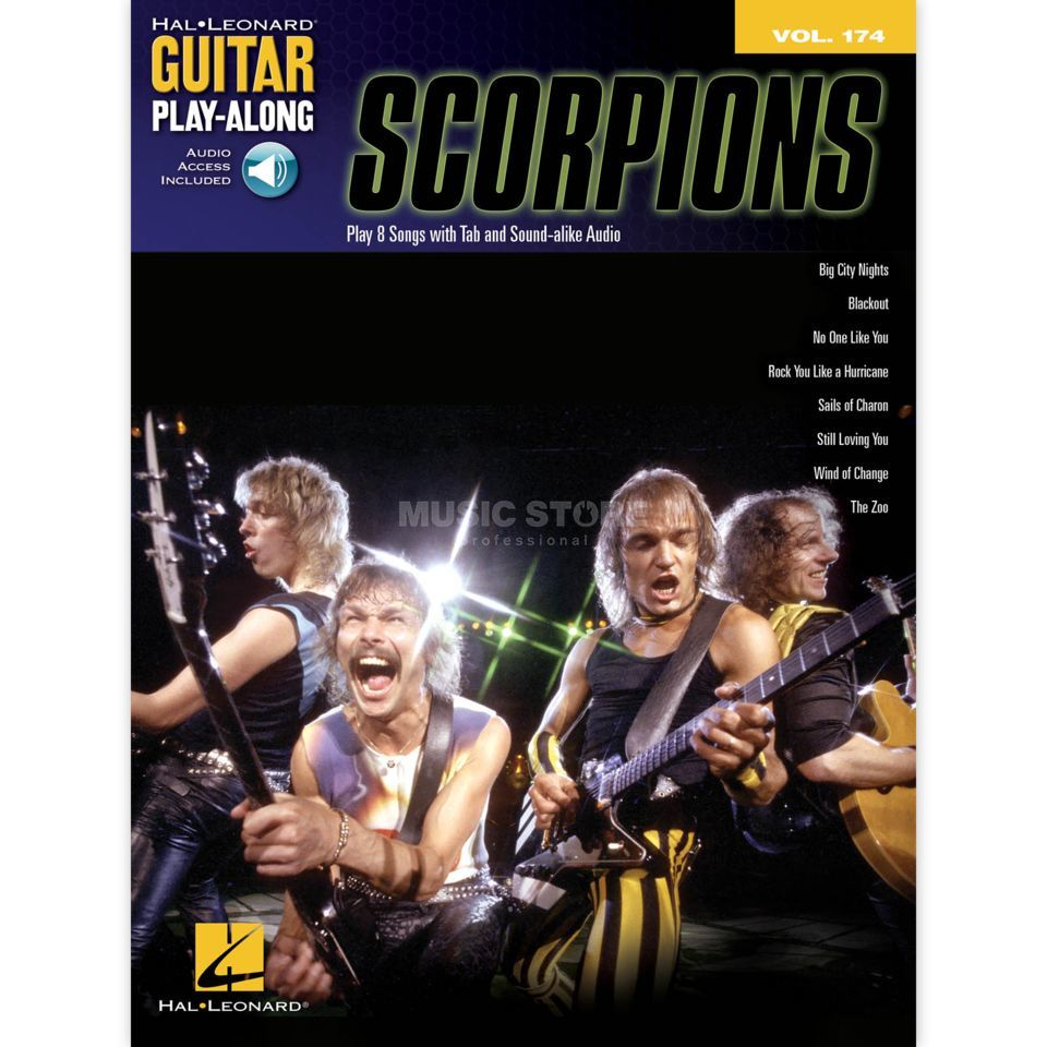Hal Leonard Guitar Play-Along: Scorpions Vol. 174, TAB und CD Produktbild