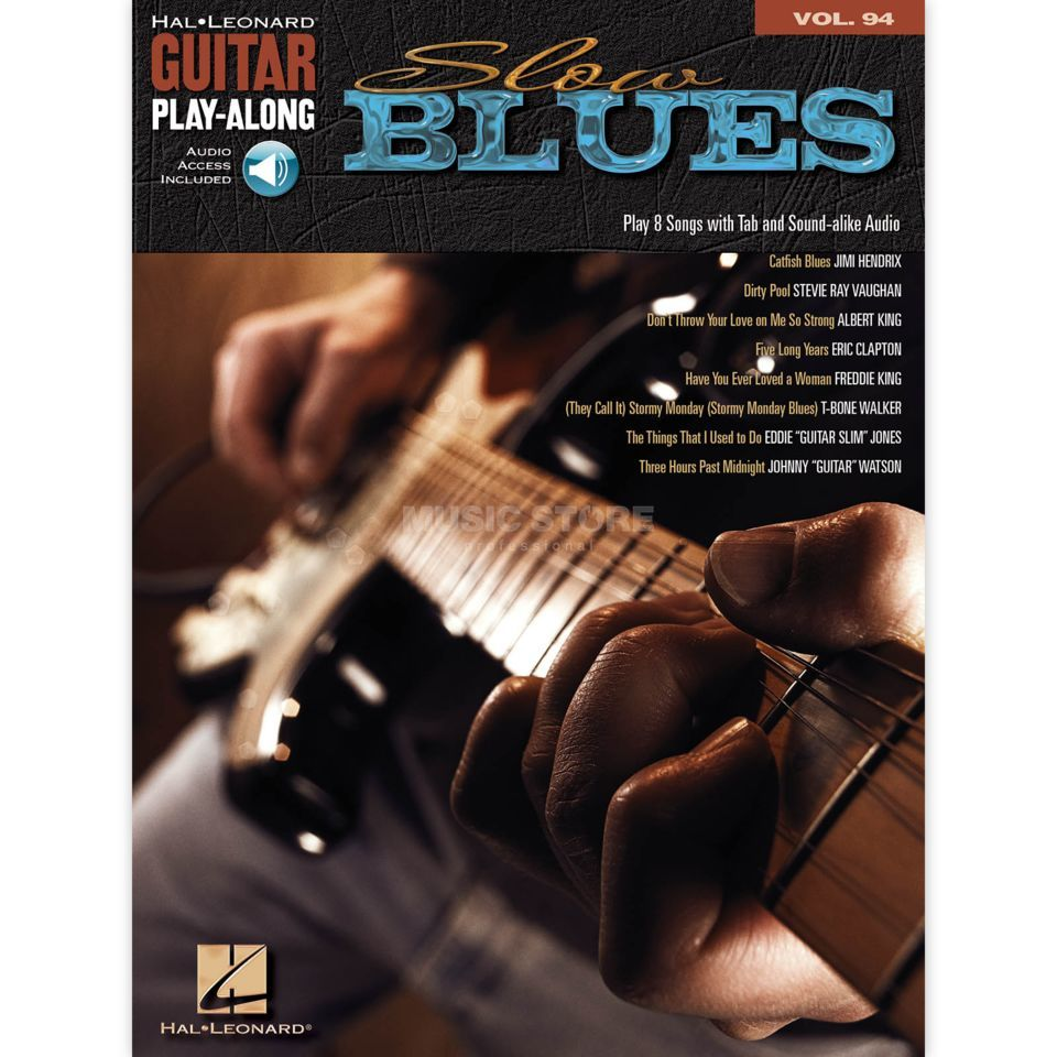 Hal Leonard Guitar Play-Along: Slow Blues Vol. 94, TAB und CD Produktbillede