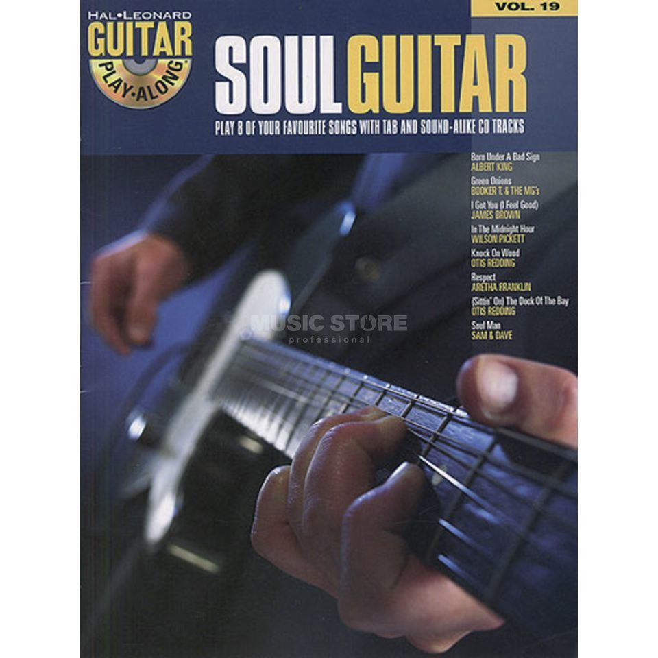 Hal Leonard Guitar Play-Along: Soul Guitar Vol. 19, TAB und CD Produktbillede