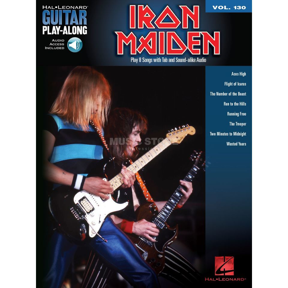 Hal Leonard Guitar Play-Along Volume 130: Iron Maiden Image du produit