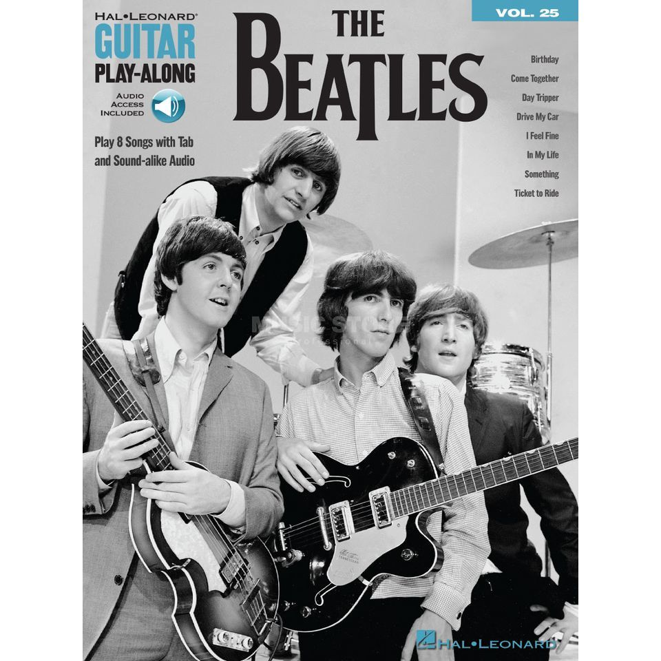 Hal Leonard Guitar Play-Along Volume 25: The Beatles Product Image