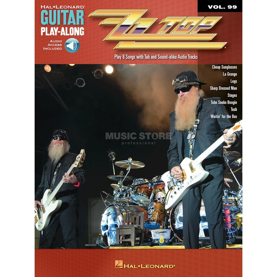 Hal Leonard Guitar Play-Along Volume 99: ZZ Top Produktbild