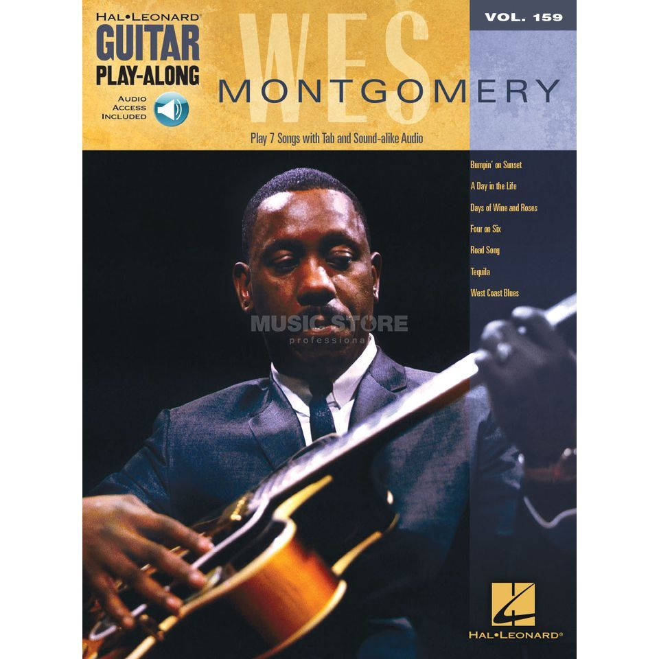 Hal Leonard Guitar Play-Along: Wes Montgomery Vol. 159, TAB und Download Produktbild