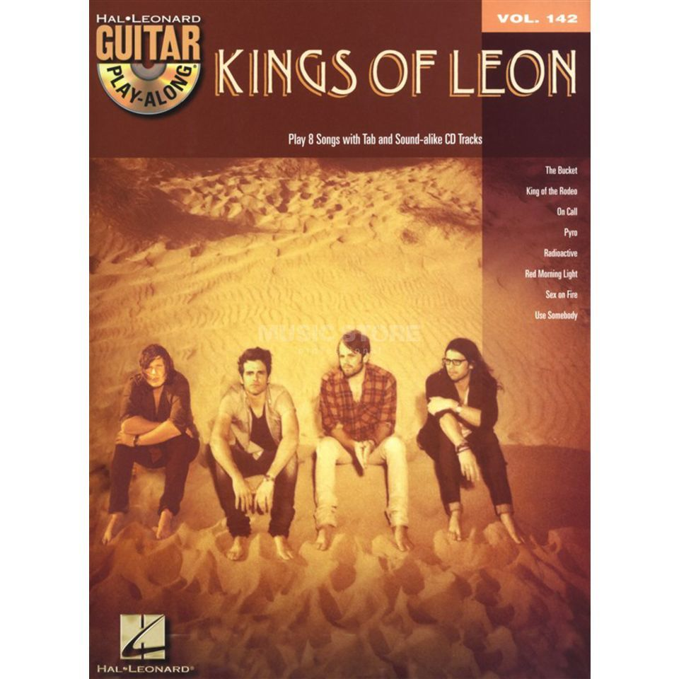 Hal Leonard Guitar PlayAlong: Kings Of Leon Vol. 142, TAB und CD Produktbild