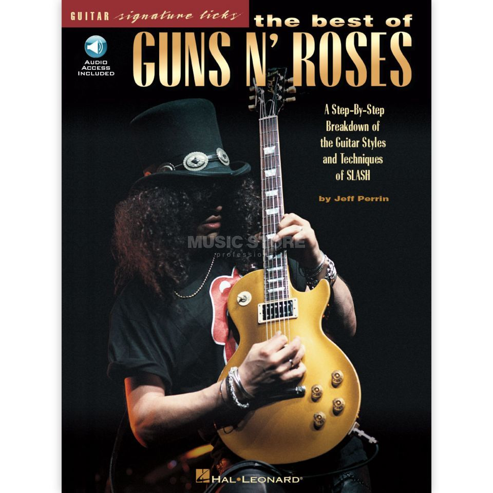 Hal Leonard Guns N' Roses: The Best Of Signature Licks Produktbild