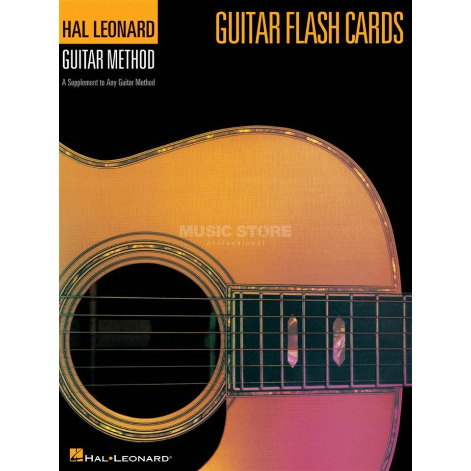 Hal Leonard Hal Leonard Guitar Method: Guitar Flash Cards Produktbillede
