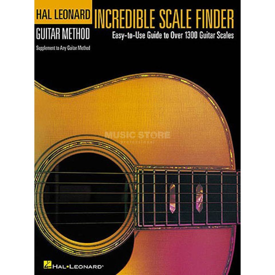 Hal Leonard Hal Leonard Guitar Method: Incredible Scale Finder Produktbild