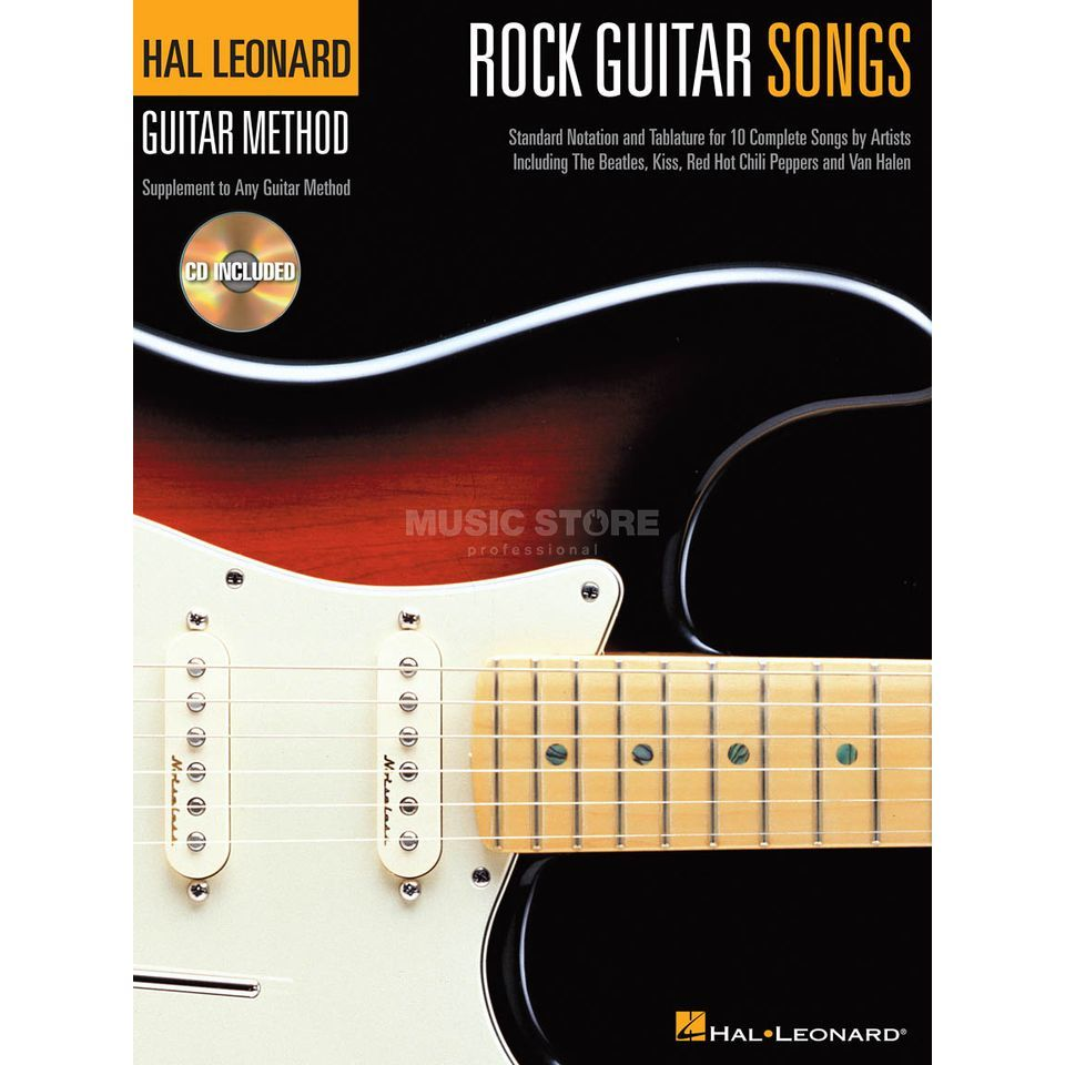 Hal Leonard Hal Leonard Guitar Method: Rock Guitar Songs Produktbillede