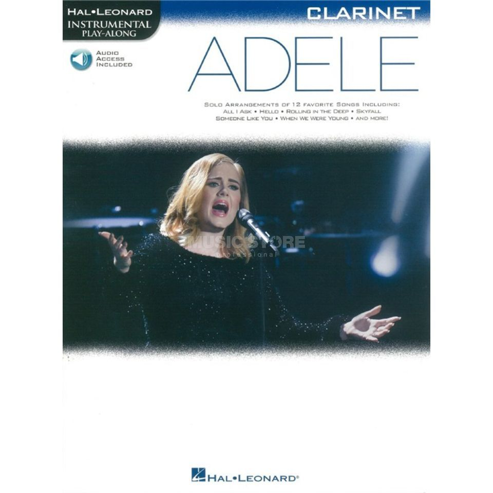 Hal Leonard Instrumental Play-Along: Adele - Clarinet Изображение товара