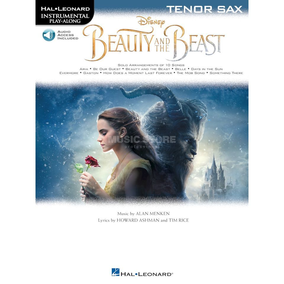 Hal Leonard Instrumental Play-Along: Beauty And The Beast - Tenor Saxophone Изображение товара