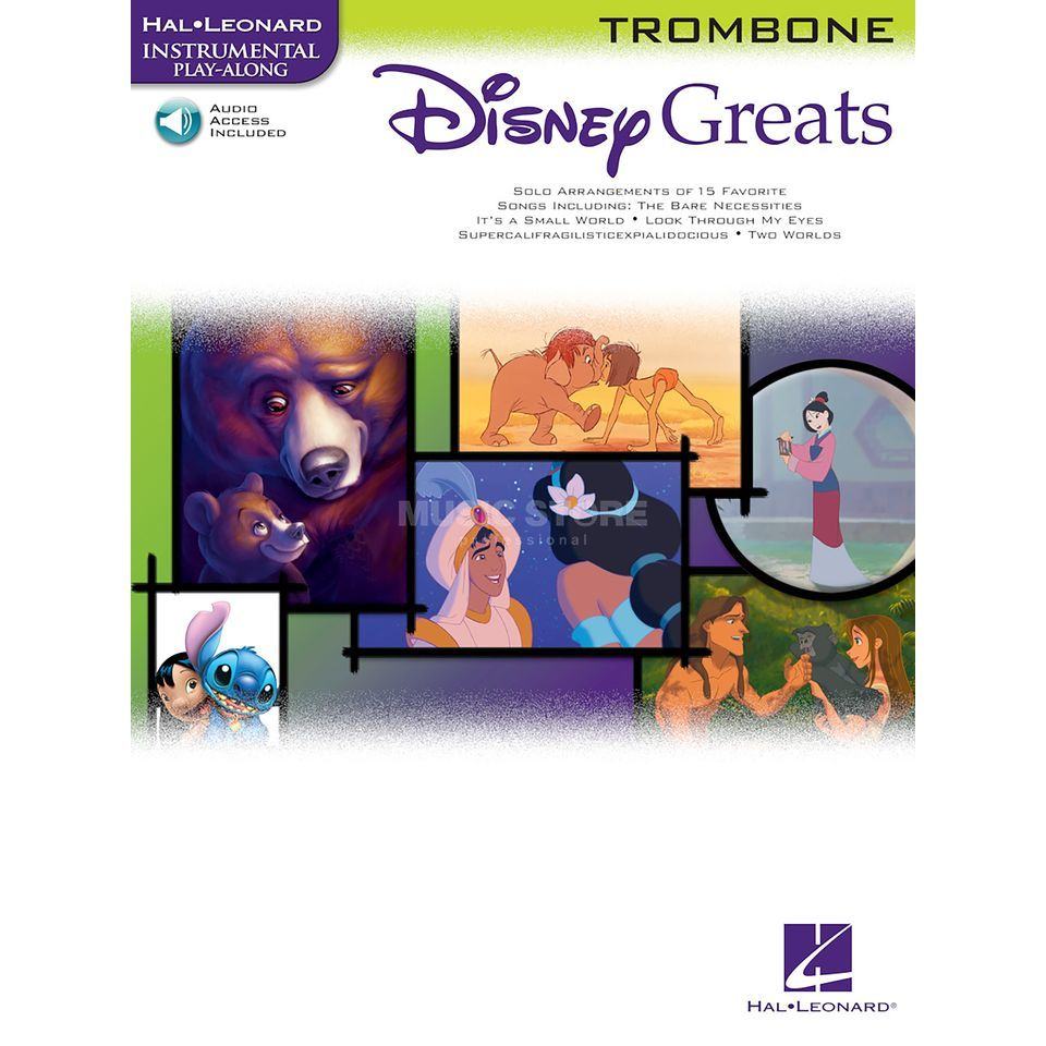 Hal Leonard Instrumental Play-Along: Disney Greats - Trombone Product Image