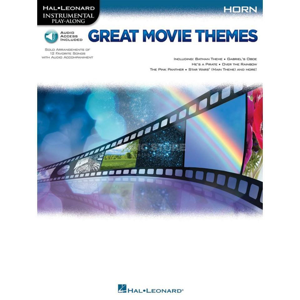 Hal Leonard Instrumental Play-Along: Great Movie Themes - Horn Produktbillede