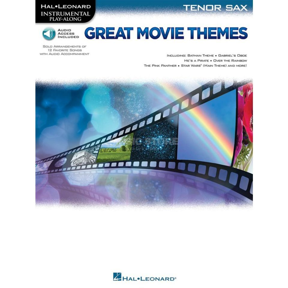 Hal Leonard Instrumental Play-Along: Great Movie Themes - Tenor Saxophone Produktbild