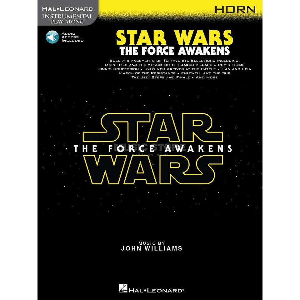 Hal Leonard Instrumental Play-Along: Star Wars - The Force Awakens - Horn Imagem do produto