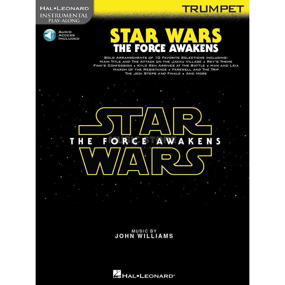 Hal Leonard Instrumental Play-Along: Star Wars - The Force Awakens - Trumpet Produktbillede