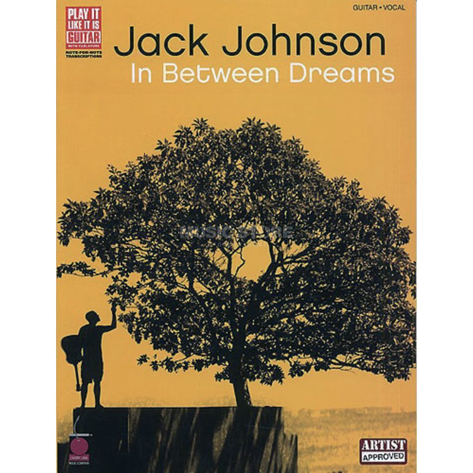 Hal Leonard Jack Johnson: In Between Dream TAB Produktbild