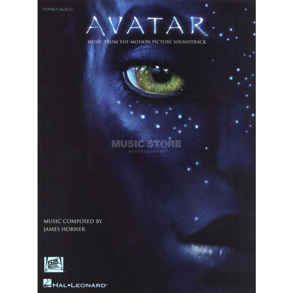 Hal Leonard James Horner Avatar Soundtrack Piano Solo Produktbillede