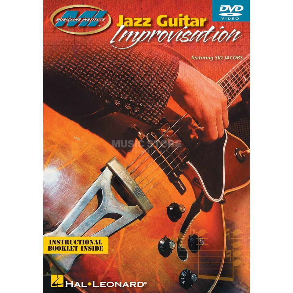 Hal Leonard Jazz Guitar Improvisation MI Press, DVD Produktbillede