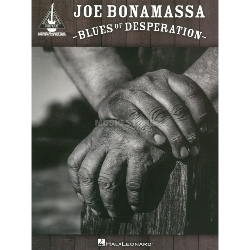 Hal Leonard  Joe Bonamassa: Blues Of Desperation Image du produit