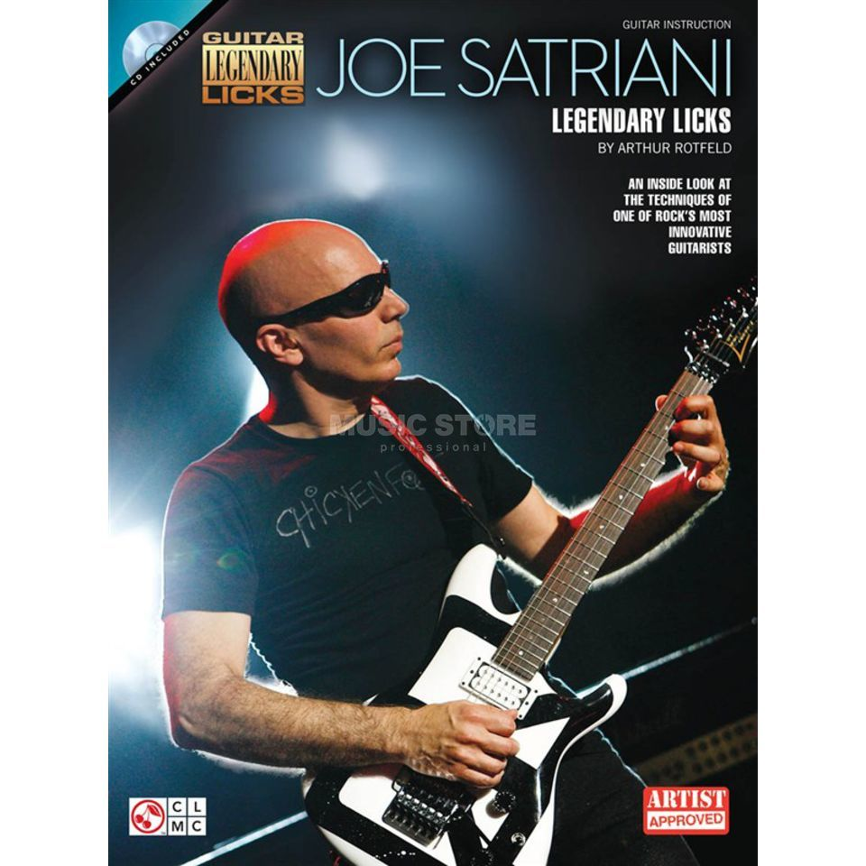 Hal Leonard Joe Satriani: Legendary Licks Produktbild