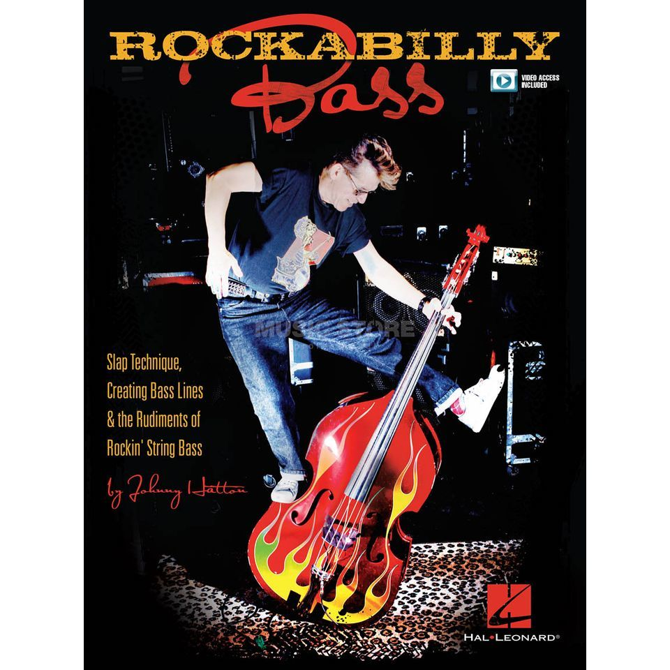 Hal Leonard Johnny Hatton: Rockabilly Bass Produktbillede