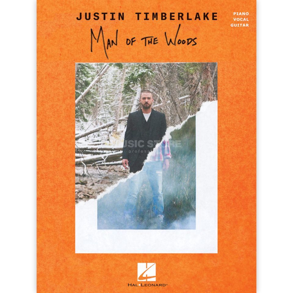 Hal Leonard Justin Timberlake: Man Of The Woods Immagine prodotto