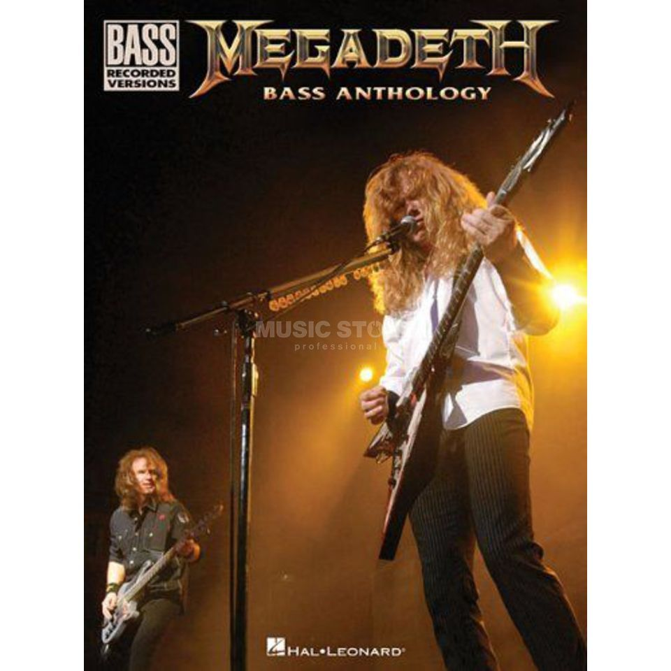 Hal Leonard Megadeth Bass Anthology Produktbillede