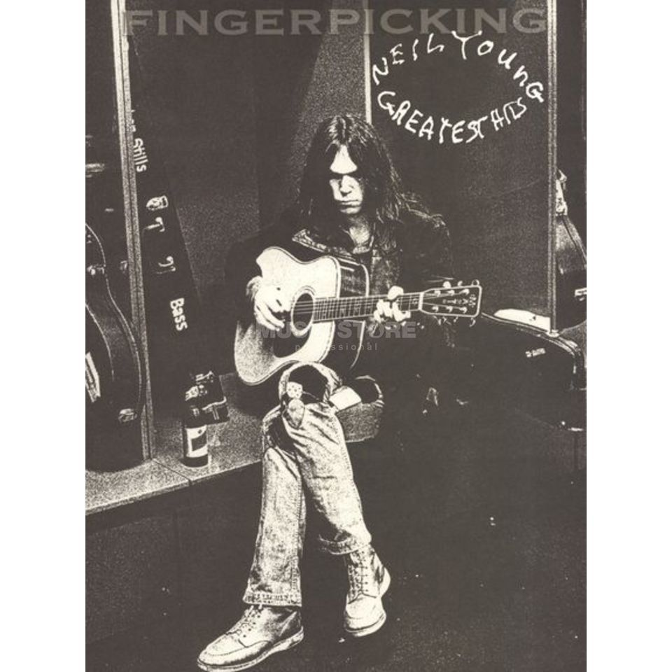 Hal Leonard Neil Young: Greatest Hits (Fingerpicking Guitar) Product Image