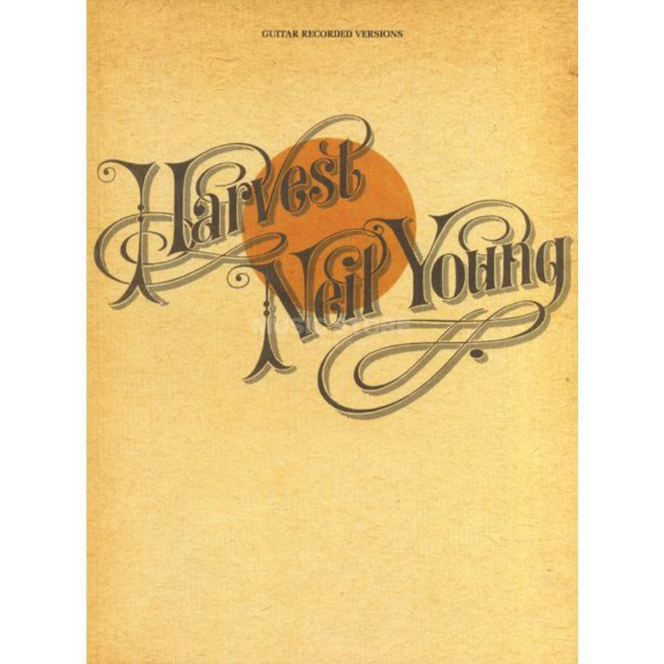 Hal Leonard Neil Young - Harvest Guitar Recorded Versions (TAB) Produktbillede