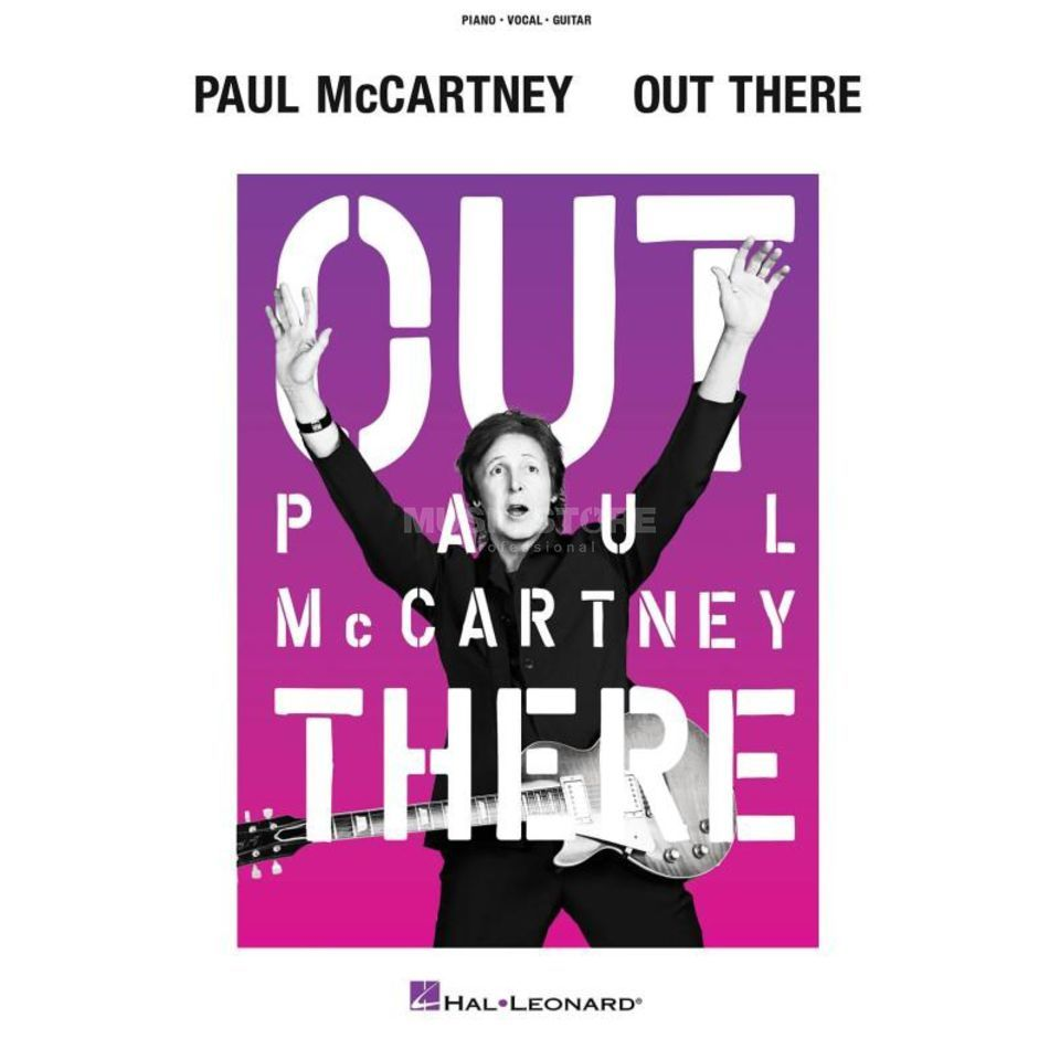 Hal Leonard Paul McCartney: Out There Tour PVG Produktbild