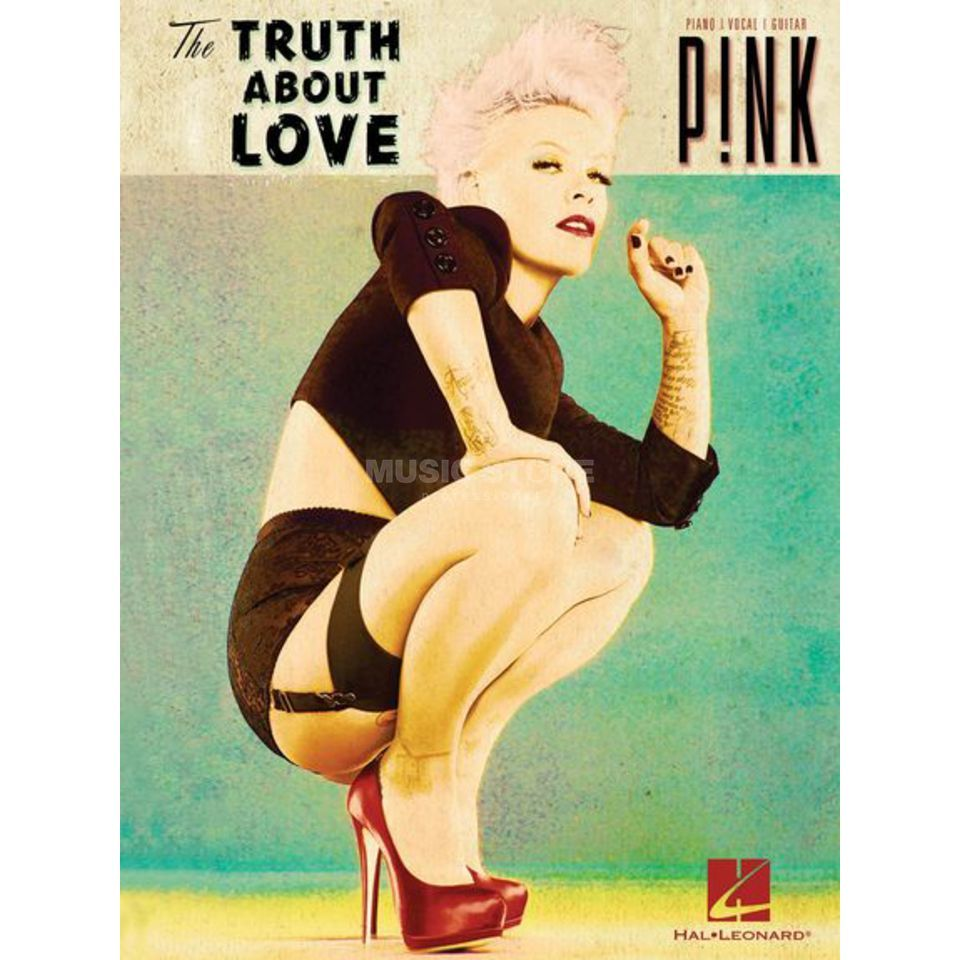 Hal Leonard Pink: The Truth About Love PVG Produktbild