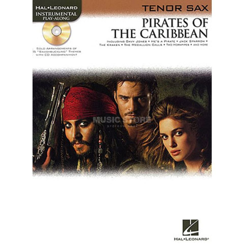 Hal Leonard Pirates Of The Caribbean Tenor-Saxophon/CD, Leicht Produktbillede