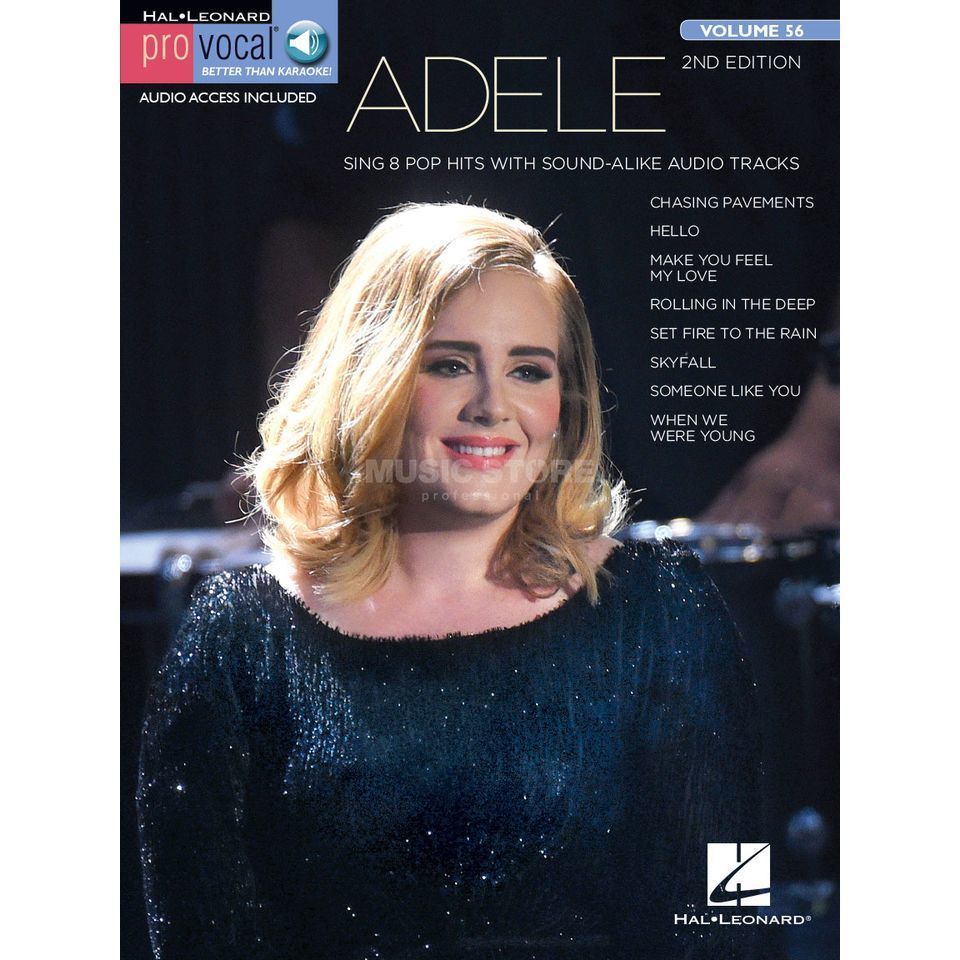 Hal Leonard Pro Vocal Volume 56: Adele Product Image