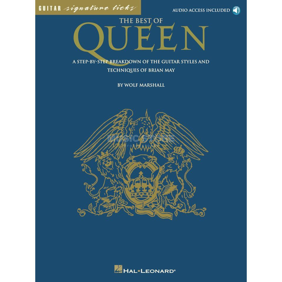 Hal Leonard Queen: Best Of Guitar Signature Licks Produktbillede