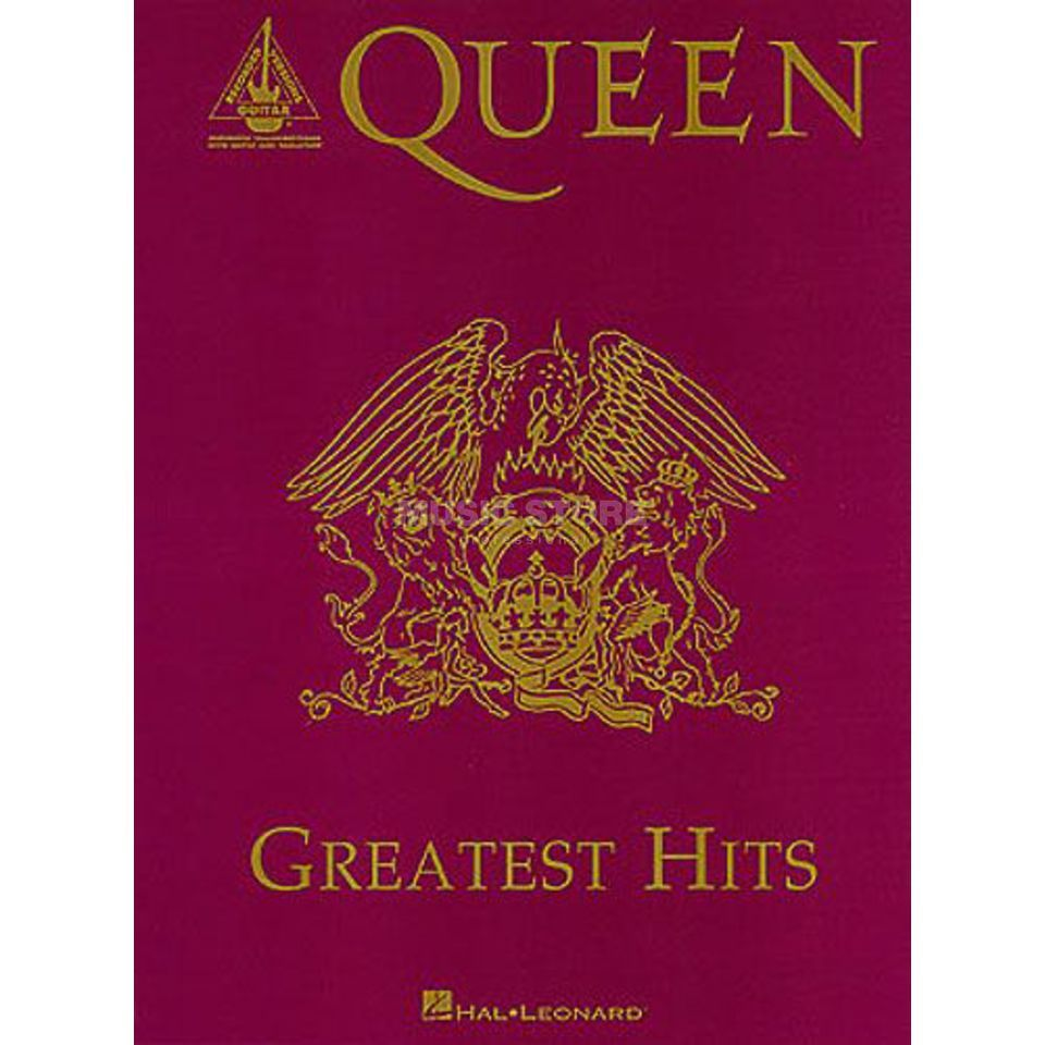 Hal Leonard Queen - Greatest Hits TAB Produktbild