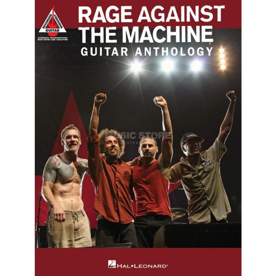 Hal Leonard Rage Against The Machine: Guitar Anthology Produktbild