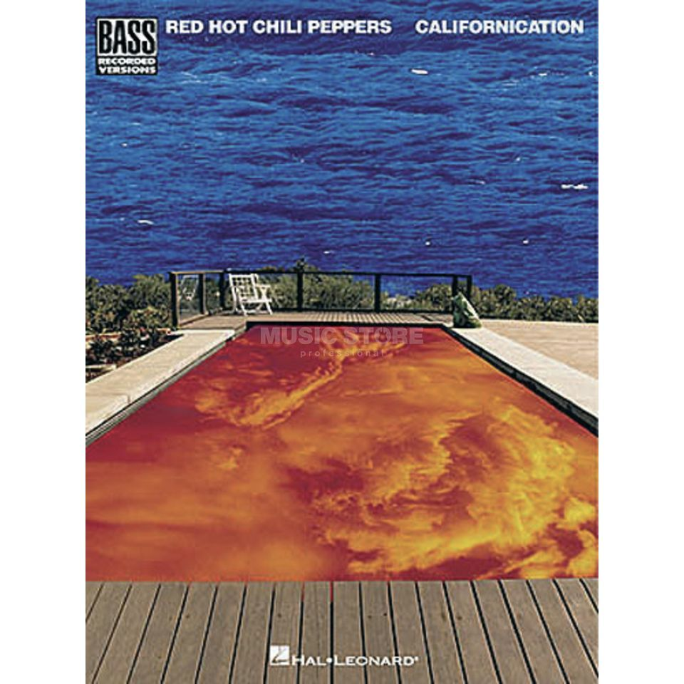 Hal Leonard Red Hot Chili Peppers: Californica Bass TAB Produktbillede