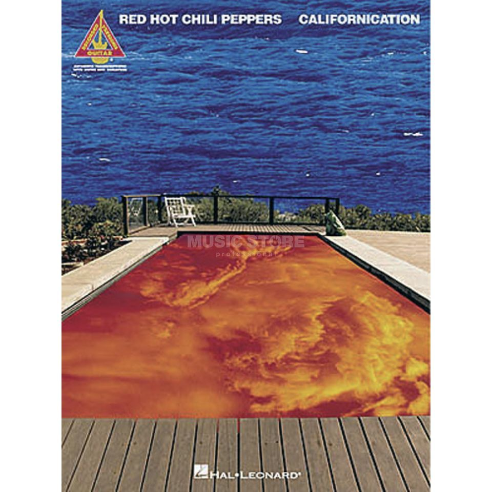 Hal Leonard Red Hot Chili Peppers: Californication TAB Produktbillede
