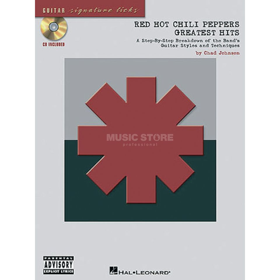 Hal Leonard Red Hot Chili Peppers: Greatest Hits - Signature Licks For Guitar Produktbild